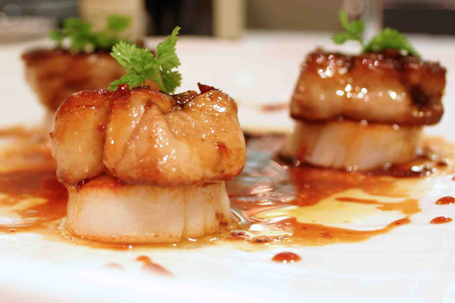 Foie Gras with Scallops