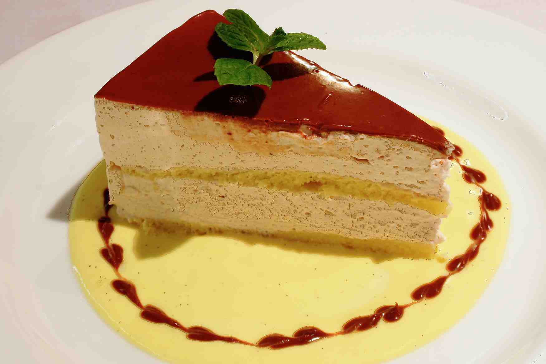 Chestnut Mousse Cake