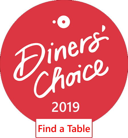 2019 Diner's Choice Open Table